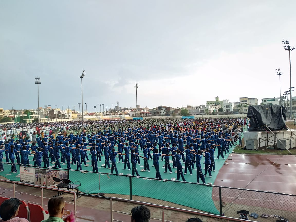 Yoga Day @Shree Sharda Memorial School